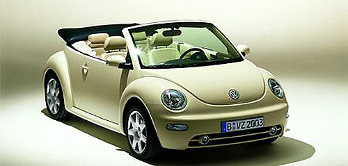 Volkswagen New Beetle Cabrio vítá léto