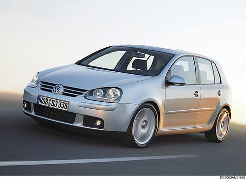 Volkswagen zveřejnil první informace o Golfu páté generace