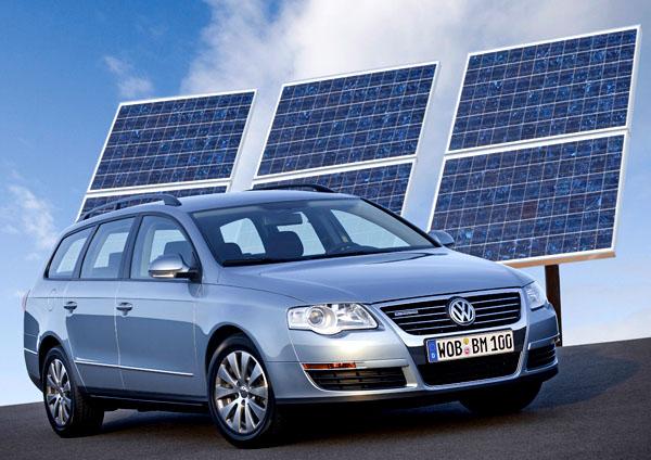 Světová premiéra VW Passat BlueMotion na Autosalonu vŽenevě.