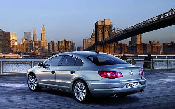 Nový Volkswagen Passat CC ve světové premiéře na autosalonu vDetroitu