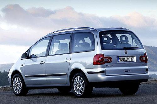 Osvěžený design pro Volkswagen Sharan