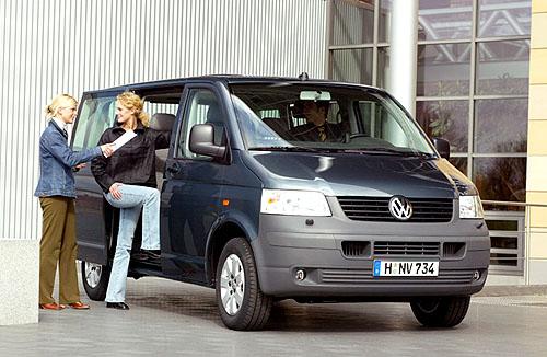 Nový VW Transporter Shuttle: Nástupce oblíbeného VW Caravelle