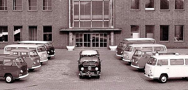 Volkswagen vyrobil do dnešních dní již více než 10 milionů Transporterů.
