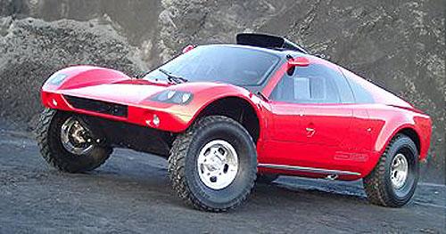 Na start maratónu Dakar 2003 tři speciály Volkswagen Tarek