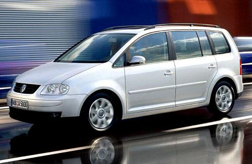 Volkswagen představuje kompaktní velkoprostorový model Touran