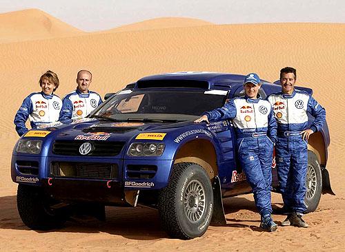 Volkswagen Race-Touareg má za sebou úspěšné testy v marocké poušti