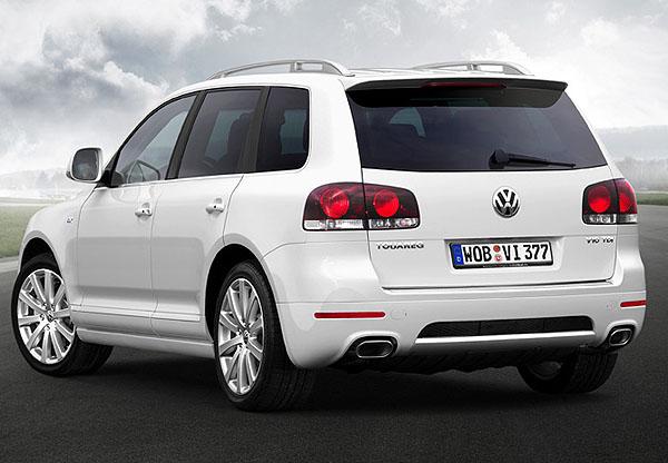 Volkswagen Touareg s pakety výbavy R-Line