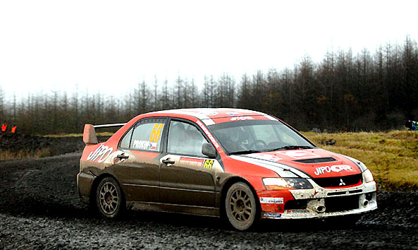 Wales Rally GB: Prokop – Tománek na Mitsubishi Lancer Evo IX šestí v cíli v hodnocení skupiny N