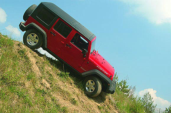 Nový Jeep Wrangler prokázal své schopnosti