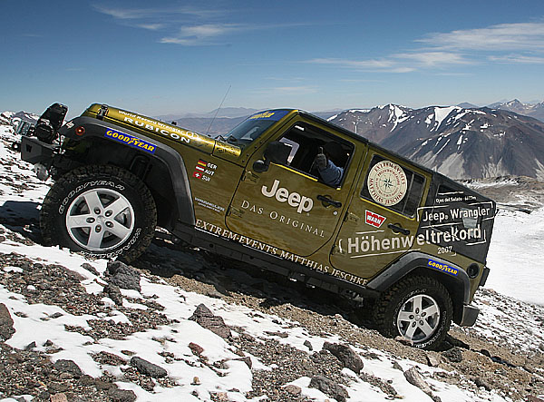 Rekordní výjezd vozů Jeep® Wrangler Unlimited