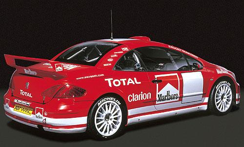 Autosalon ve Frankfurtu odhalí nástupce 206 WRC sportovní novinku - Peugeot 307 WRC