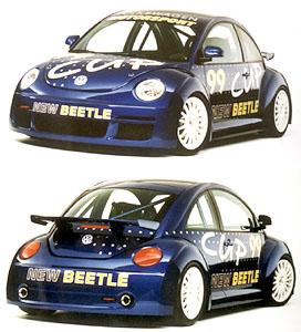 Závodní Volkswagen New Beetle