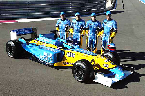 Nová verze webových stránek stáje Renault F1 Team